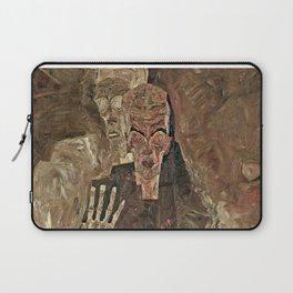 Egon Schiele - Self-Seer II (Death and Man) Laptop Sleeve