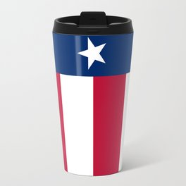 Texas state flag, High Quality Vertical Banner Travel Mug
