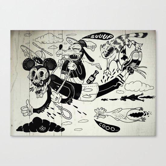 It's a Trap Canvas Print