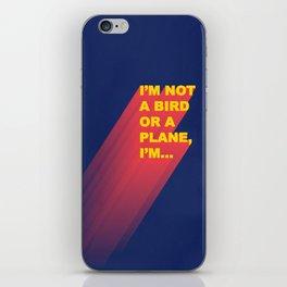 Super Man iPhone Skin