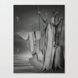 "Semailles ""B"" Canvas Print"