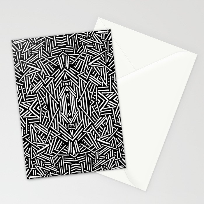 Radiate (BW) Stationery Cards