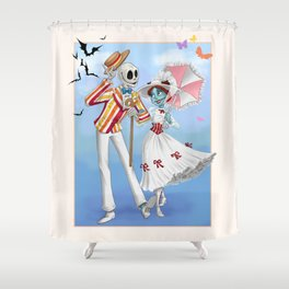 A Jolly Nightmare Shower Curtain