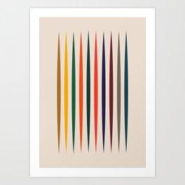 Miri Art Print