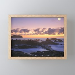 Seascape Framed Mini Art Print