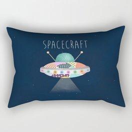 Spacecraft Rectangular Pillow