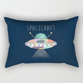 Spacecraft Rectangular Pillow