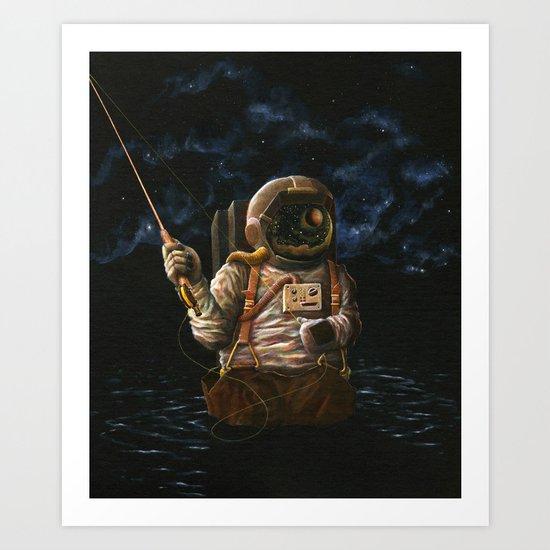 Alone(And Loving It) Art Print