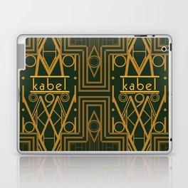 Kabel Type Portrait Green  Laptop & iPad Skin