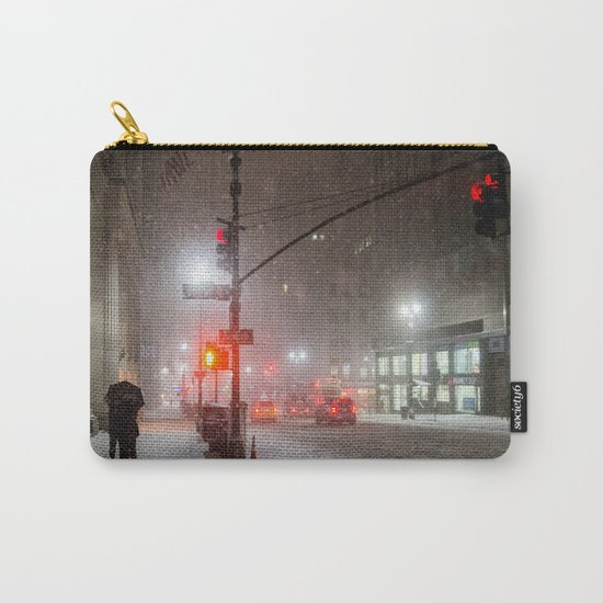 New York City Snow Romance Carry-All Pouch
