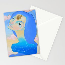 The New Blue Stationery Cards