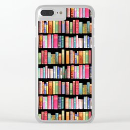 Christmas Antique Book Library for Bibliophile.bookworm, book lover, library, teachers , students, Clear iPhone Case