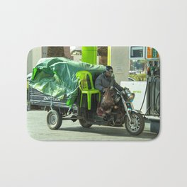 Come ride with me Bath Mat