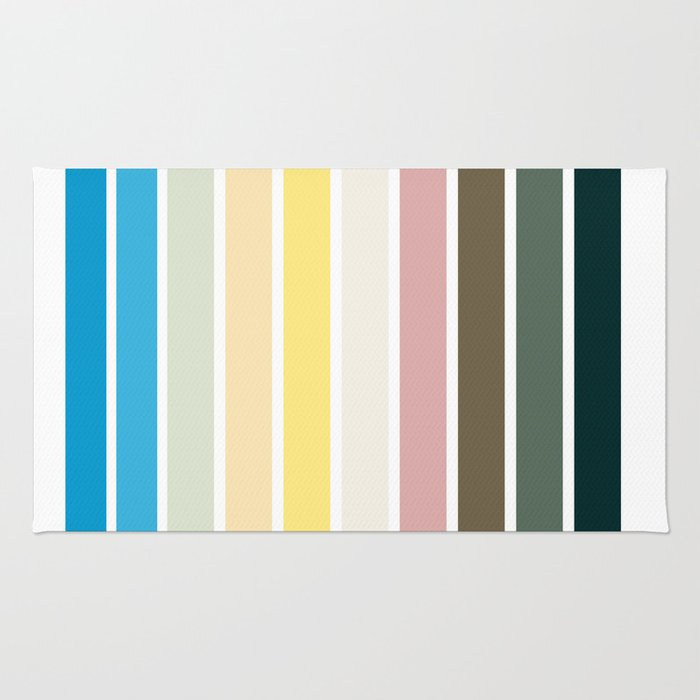 The colors of - Nausicaa Rug