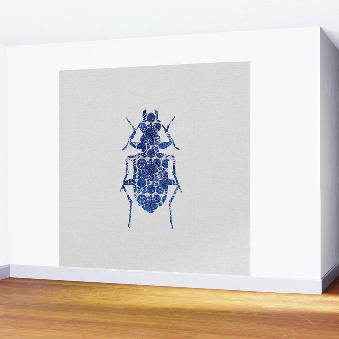 Blue Beetle II Wall Mural