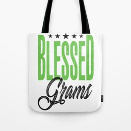 Blessed Grams Gift Tote Bag