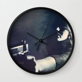 Hardboiled Fiction Wall Clock