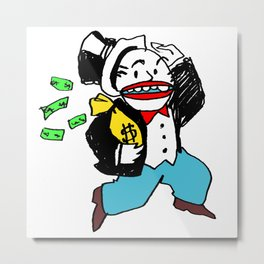 Monopoly Goon! Metal Print