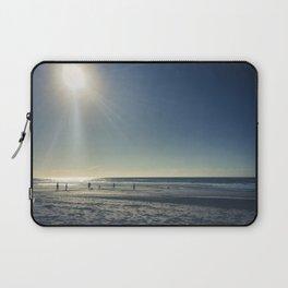 Cricket on the Beach Laptop Sleeve