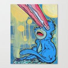 Monkey Beam Canvas Print
