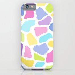 Fig. 050 Colorful Rainbow Giraffe Animal Print iPhone Case