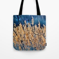 My blue reed dream - photography Tote Bag
