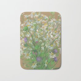 Meadow flowers Bath Mat