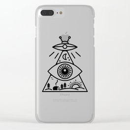 They Watch Us Clear iPhone Case