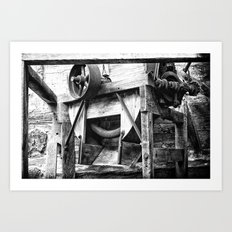 Machined Dream 06 Art Print