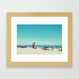 Kaimana Beach Framed Art Print