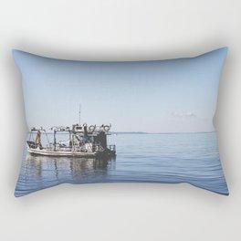 The Fisherman. Rectangular Pillow