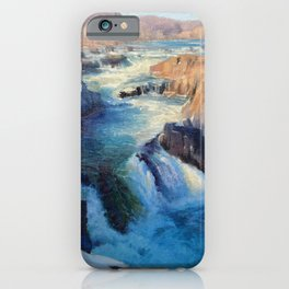 Great Falls Winter iPhone Case