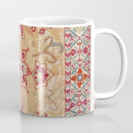 Bokhara Suzani Antique Uzbekistan Embroidery Print Coffee Mug