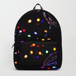 Christmas Light Reflection Backpack