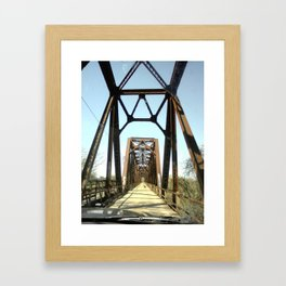 Architecture in the Middle of Nowhere Framed Art Print