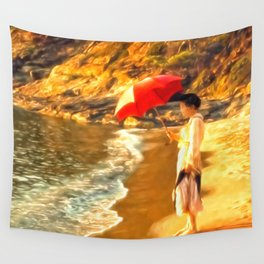 Old Fashioned Sunscreen Wall Tapestry