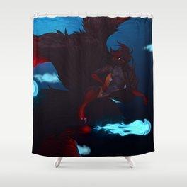 JellyFish Swim Shower Curtain