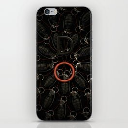 Do! Grenades, boom, art iPhone Skin