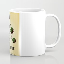Visit The Forest Government poster Coffee Mug