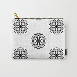 Floral Basic Carry-All Pouch