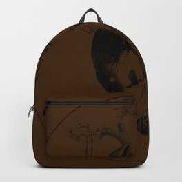 Growing Heart - Brown Backpack