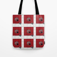 Connect the Squares Tote Bag