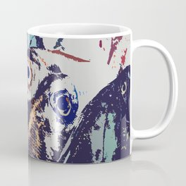 The fish. The water drives a wedge of iron through the iron edge of the cliff. Coffee Mug