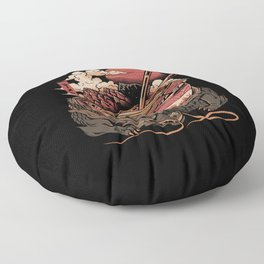 Dragon's Ramen Floor Pillow