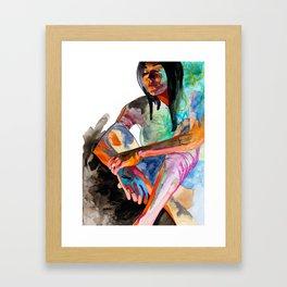 Carlhey Color Framed Art Print
