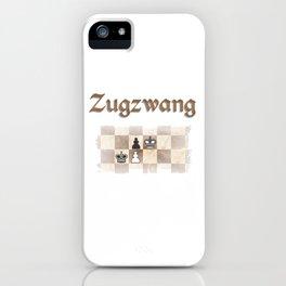 Zugzwang iPhone Case