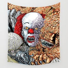 Horror mash Wall Tapestry