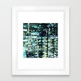 City Never Sleeps 1 Framed Art Print