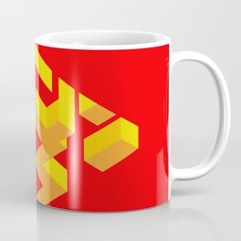 Peinture rouge / Tranh đỏ / Red painting Coffee Mug