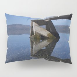 Transparent lake Pillow Sham